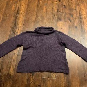 EILEEN FISHER sweater medium kid mohair fuzzy